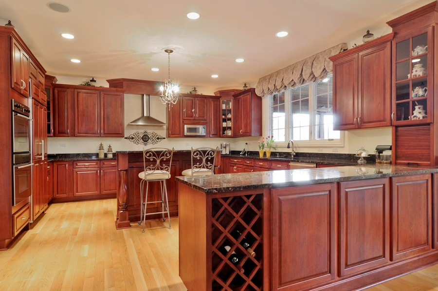 Real Estate Photography - 20843 W High Ridge Drive, Kildeer, IL, 60047 - Kitchen