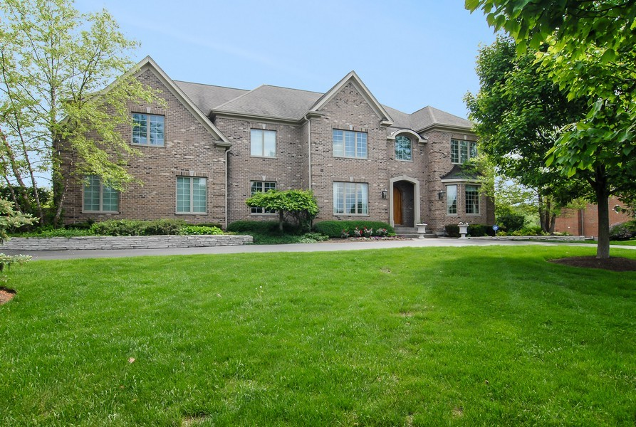 Real Estate Photography - 20843 W High Ridge Drive, Kildeer, IL, 60047 - Front View