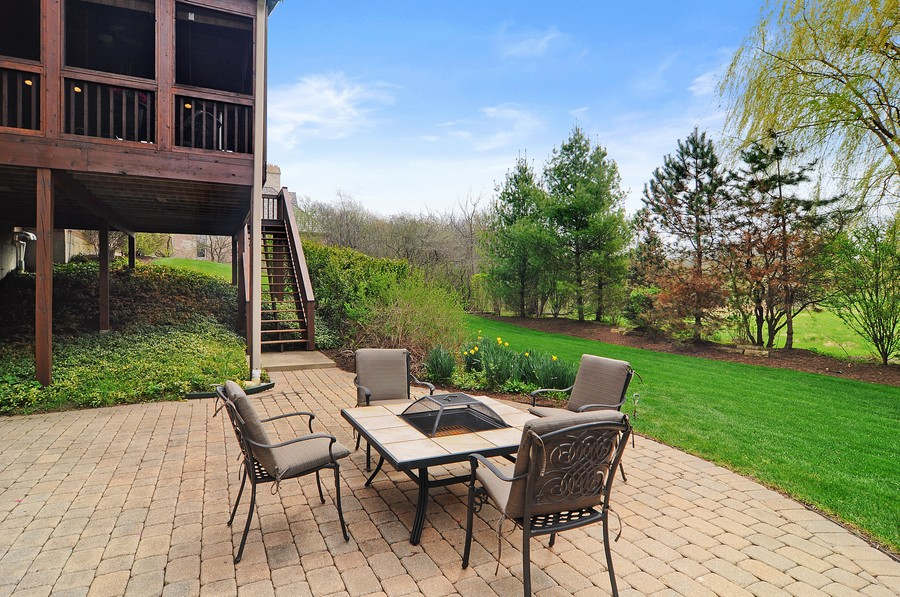 Real Estate Photography - 20843 W High Ridge Drive, Kildeer, IL, 60047 - Patio