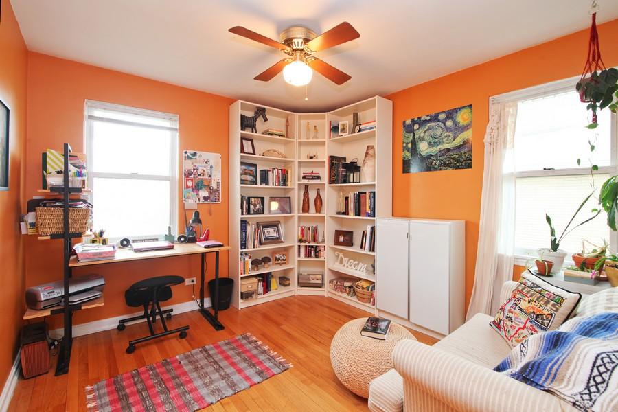Real Estate Photography - 878 Fairfield, Elmhurst, IL, 60126 - 2nd Bedroom