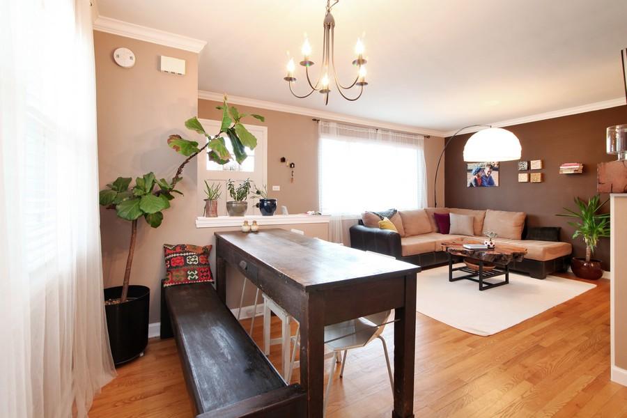 Real Estate Photography - 878 Fairfield, Elmhurst, IL, 60126 - Dining Room