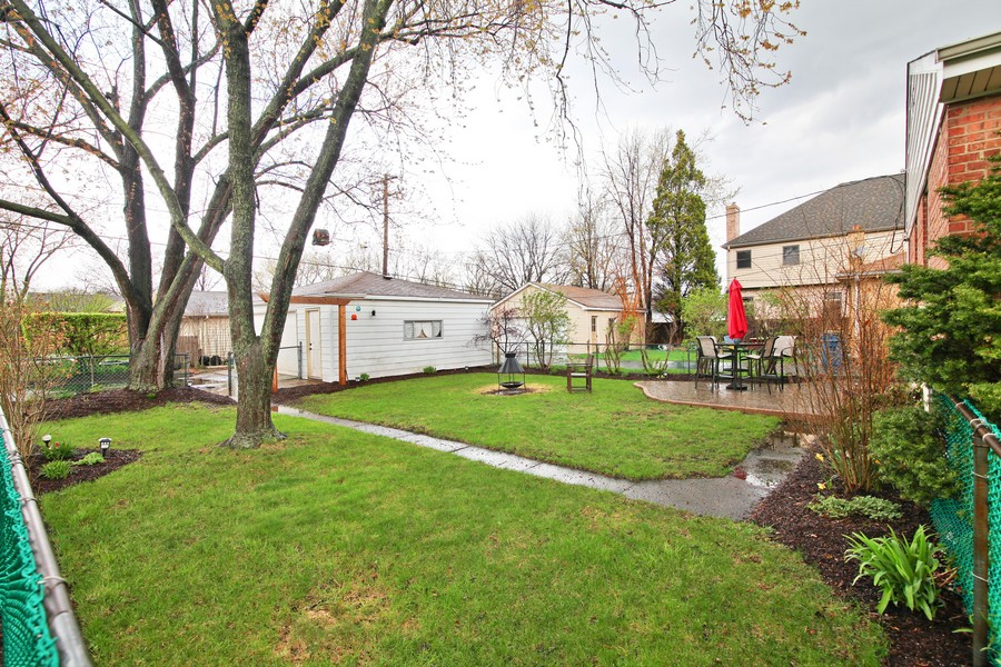 Real Estate Photography - 878 Fairfield, Elmhurst, IL, 60126 - Back Yard