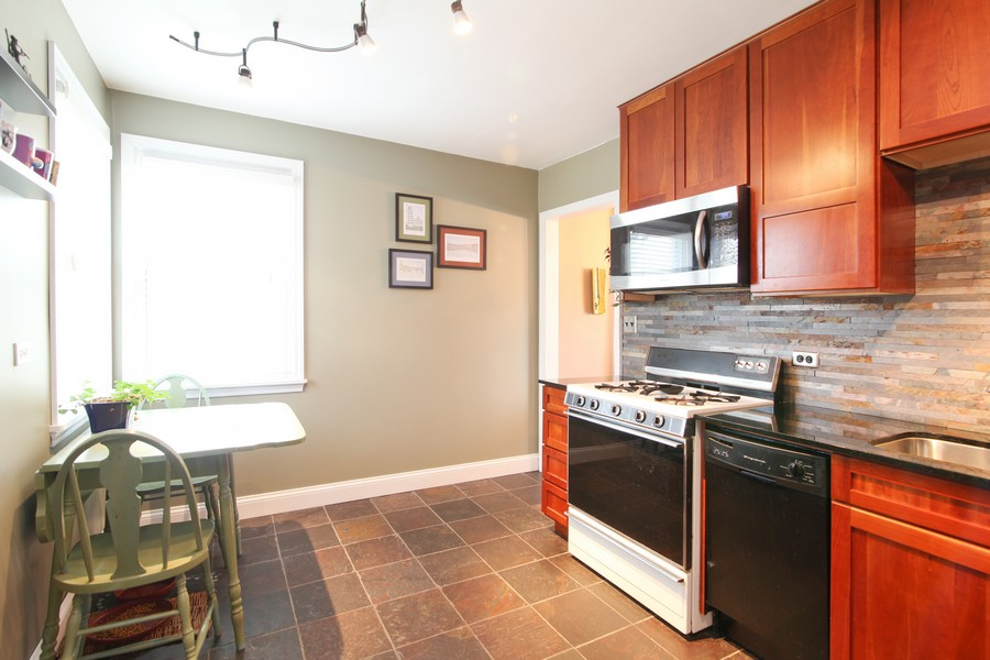 Real Estate Photography - 878 Fairfield, Elmhurst, IL, 60126 - Kitchen