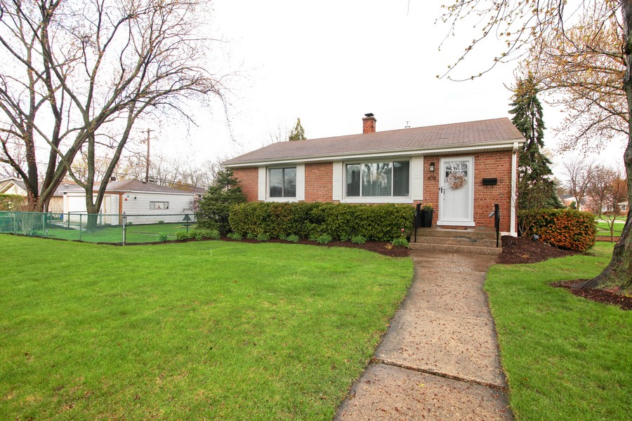 Real Estate Photography - 878 Fairfield, Elmhurst, IL, 60126 - Front View