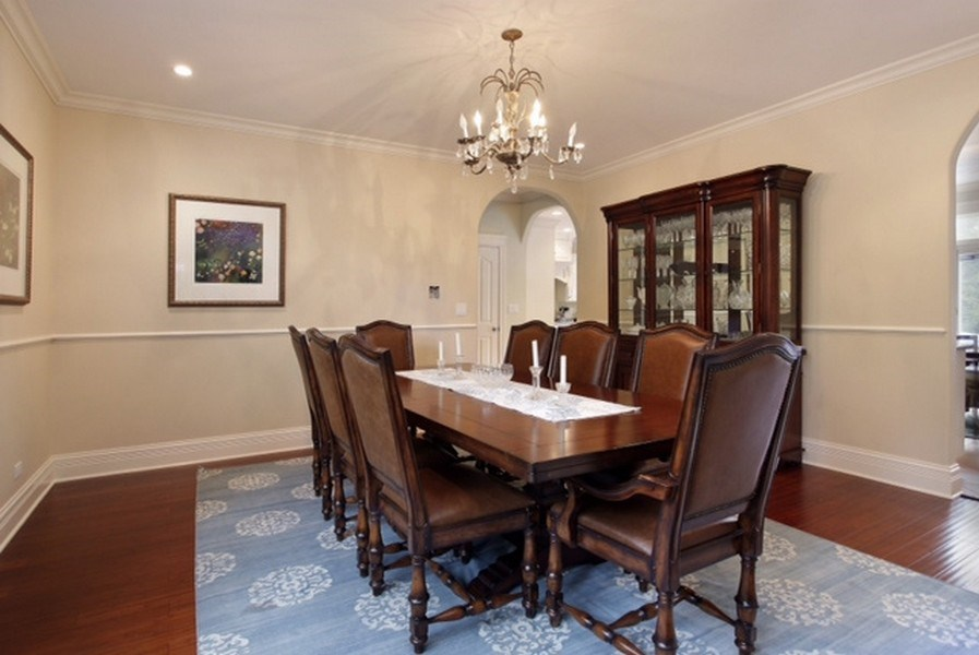 Real Estate Photography - 815 Happ Rd, Northfield, IL, 60093 - Dining Room