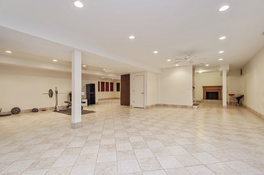 Real Estate Photography - 815 Happ Rd, Northfield, IL, 60093 - Play / Recreational Room