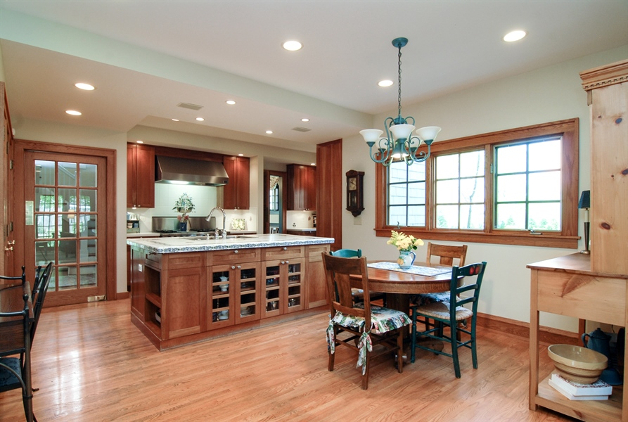 Real Estate Photography - 287 Cedar Ave., Highland Park, IL, 60035 - Kitchen / Breakfast Room