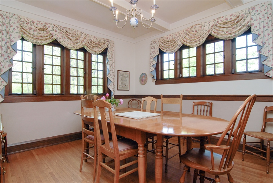 Real Estate Photography - 287 Cedar Ave., Highland Park, IL, 60035 - Dining Room