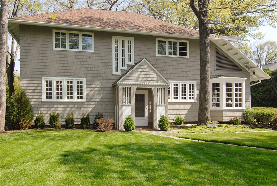 Real Estate Photography - 287 Cedar Ave., Highland Park, IL, 60035 - Front View