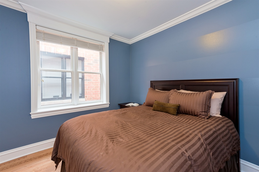Real Estate Photography - 2708 N Lehmann Ct, Unit 4S, Chicago, IL, 60614 - 2nd Bedroom