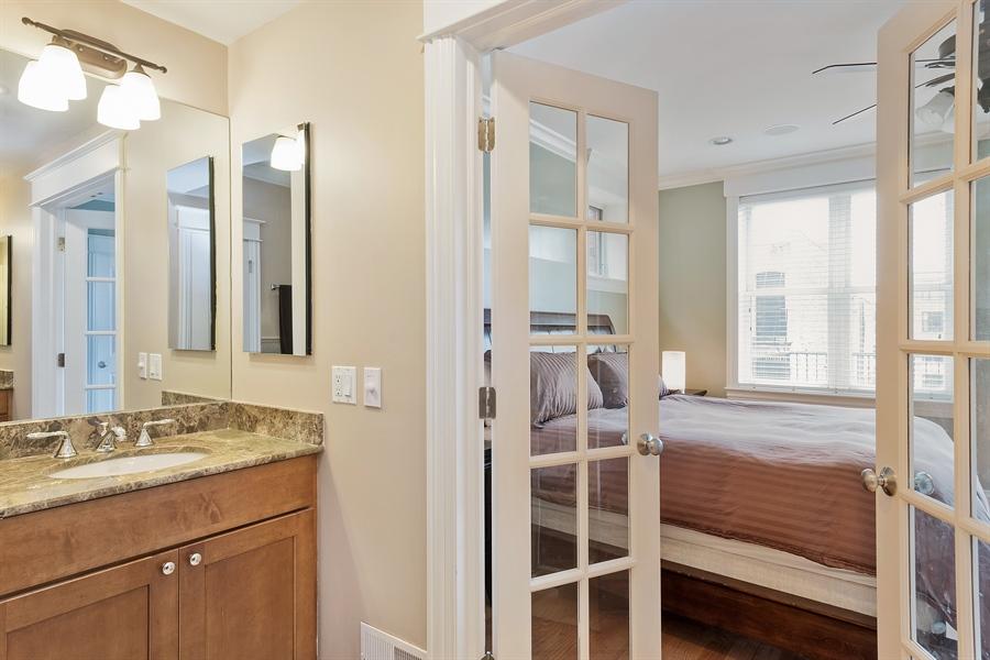 Real Estate Photography - 2708 N Lehmann Ct, Unit 4S, Chicago, IL, 60614 - Master Bathroom