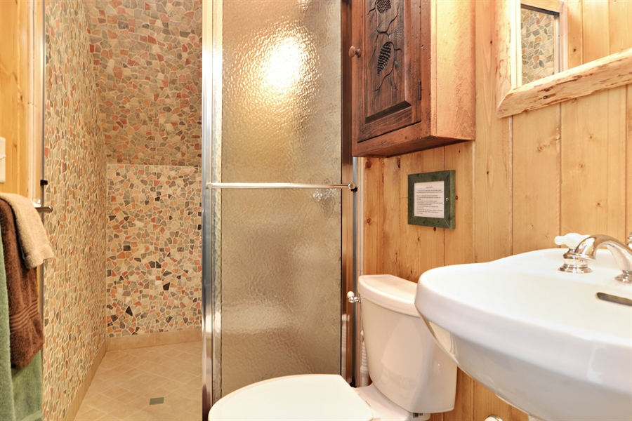 Real Estate Photography - 46064 Blue Star Hwy, Firelane 15, Coloma, MI, 49038 - 3rd Bathroom