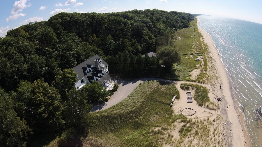 Real Estate Photography - 46064 Blue Star Hwy, Firelane 15, Coloma, MI, 49038 - Beach