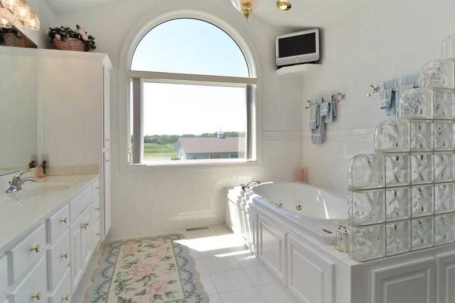 Real Estate Photography - 451 E 1000 N, La Porte, IN, 46350 - Master Bathroom