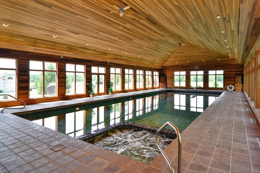 Real Estate Photography - 451 E 1000 N, La Porte, IN, 46350 - Indoor Pool