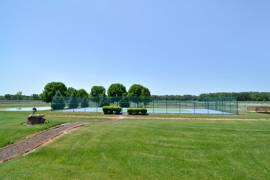 Real Estate Photography - 451 E 1000 N, La Porte, IN, 46350 - Tennis Court