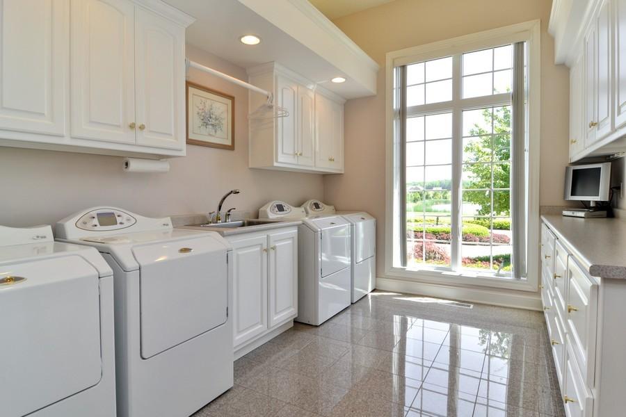 Real Estate Photography - 451 E 1000 N, La Porte, IN, 46350 - Laundry Room