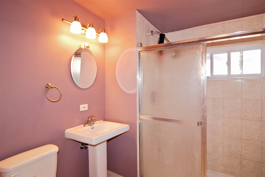 Real Estate Photography - 2219 Kenilworth, Berwyn, IL, 60402 - Bathroom