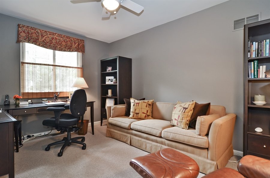 Real Estate Photography - 1060 Ridgewood, Highland Park, IL, 60035 - 3rd Bedroom