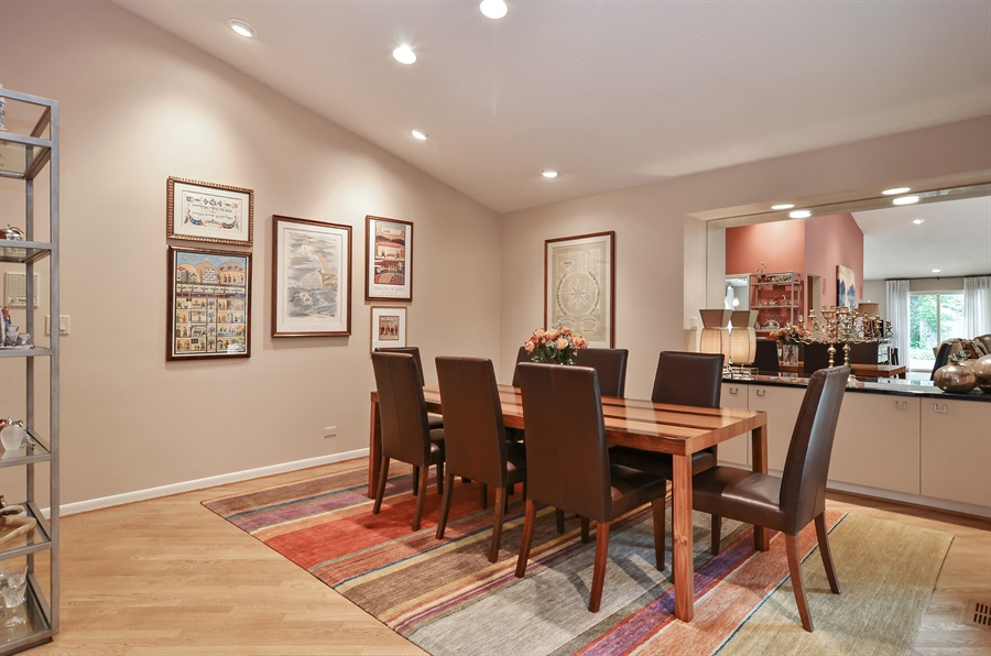 Real Estate Photography - 1060 Ridgewood, Highland Park, IL, 60035 - Dining Room