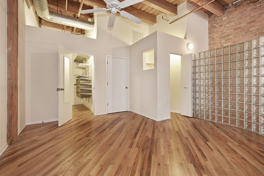 Real Estate Photography - 616 W Fulton Market, Unit 406, Chicago, IL, 60661 - Bedroom