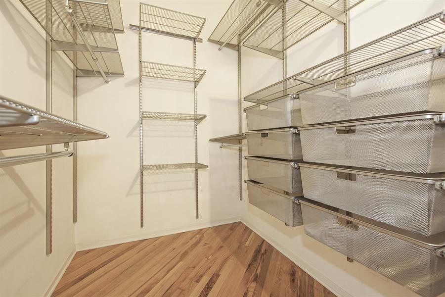 Real Estate Photography - 616 W Fulton Market, Unit 406, Chicago, IL, 60661 - Master Bedroom Closet