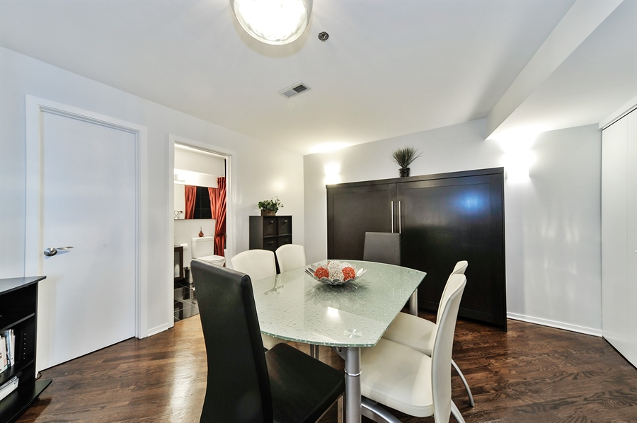 Real Estate Photography - 616 W Fulton, Unit 706, Chicago, IL, 60611 - Dining Room
