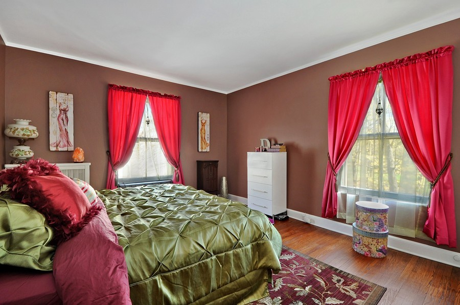 Real Estate Photography - 1425 Sheridan, Highland Park, IL, 60035 - 2nd Bedroom