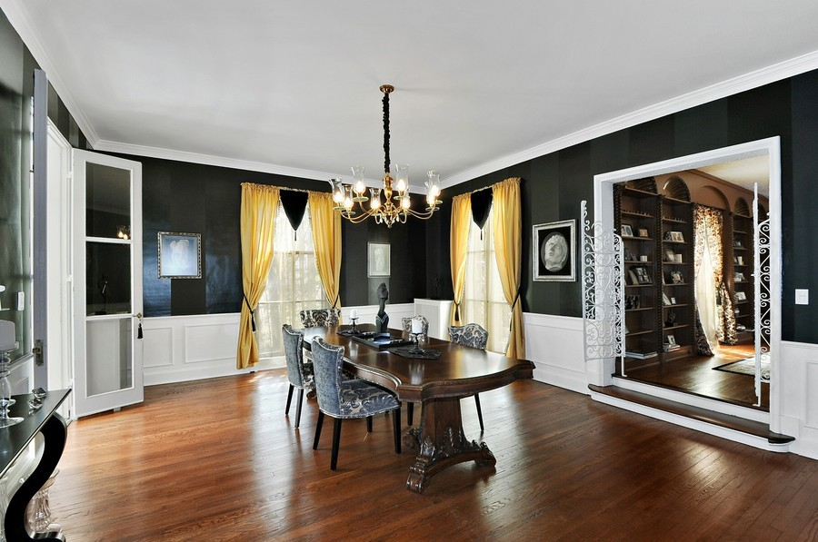 Real Estate Photography - 1425 Sheridan, Highland Park, IL, 60035 - Dining Room