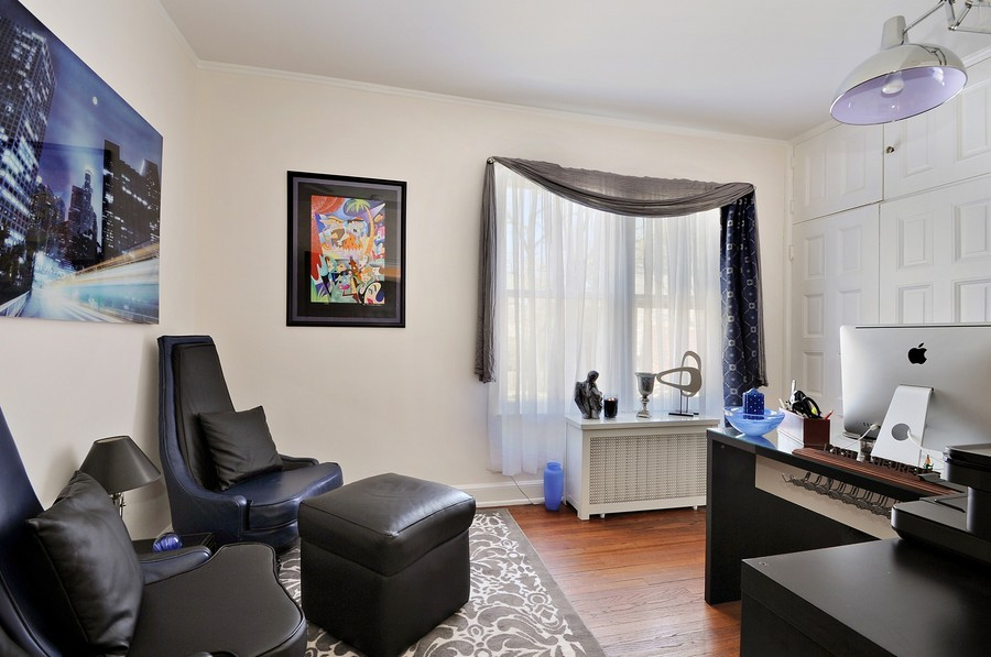 Real Estate Photography - 1425 Sheridan, Highland Park, IL, 60035 - Office