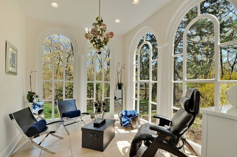 Real Estate Photography - 1425 Sheridan, Highland Park, IL, 60035 - Sun Room
