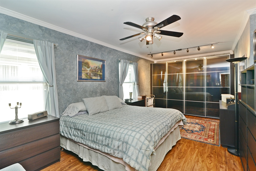 Real Estate Photography - 5531 W Grace St, Chicago, IL, 60641 - Master Bedroom