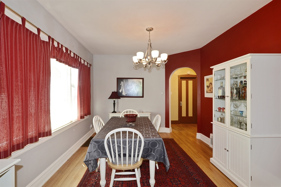 Real Estate Photography - 5531 W Grace St, Chicago, IL, 60641 - Dining Room