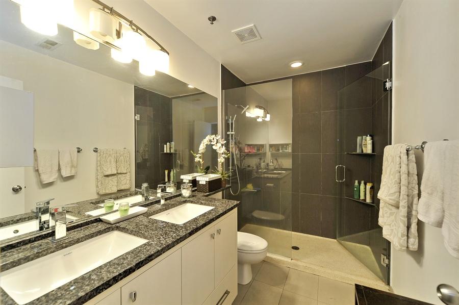 Real Estate Photography - 616 W Fulton, Unit 301, Chicago, IL, 60661 - Master Bathroom