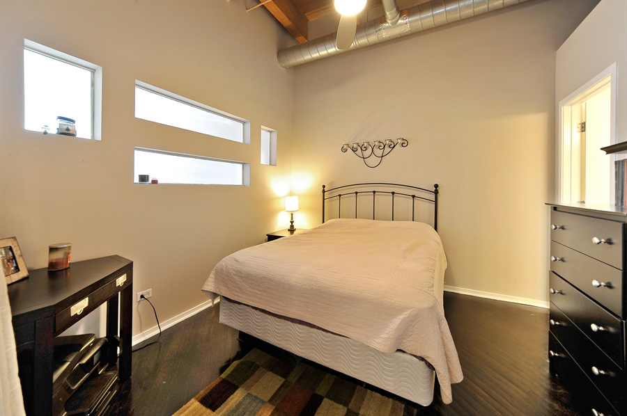 Real Estate Photography - 616 W Fulton, Unit 301, Chicago, IL, 60661 - 2nd Bedroom