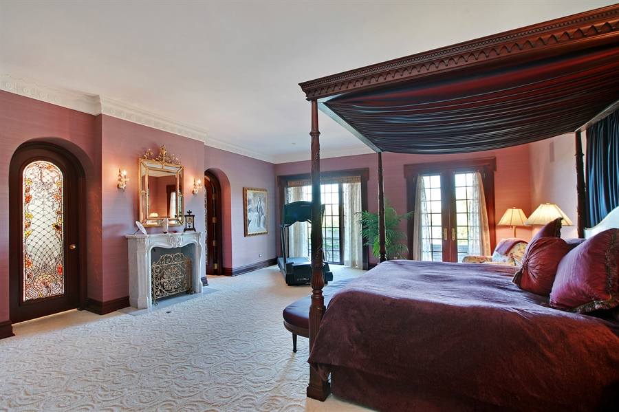 Real Estate Photography - 88 Otis Rd, Barrington Hills, IL, 60010 - Master Bedroom
