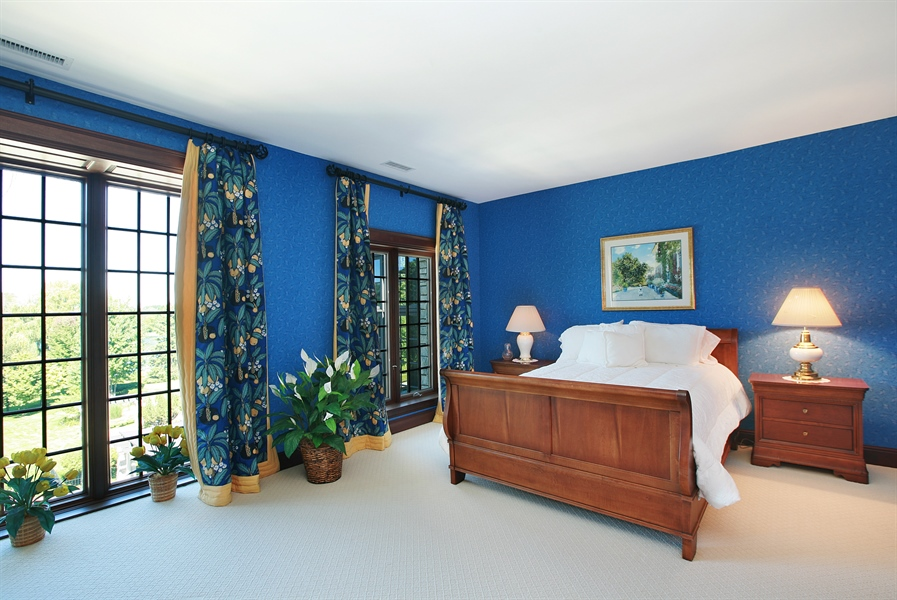 Real Estate Photography - 88 Otis Rd, Barrington Hills, IL, 60010 - 4th Bedroom
