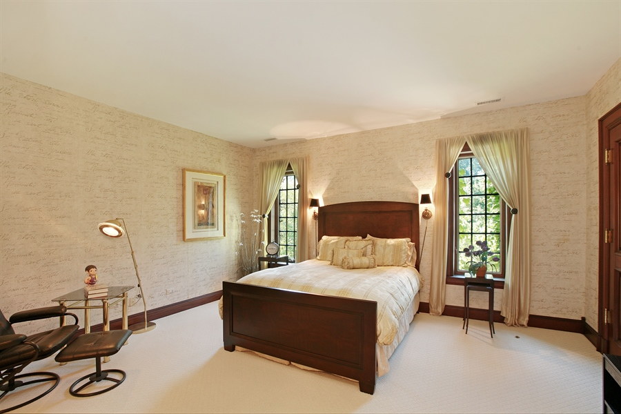 Real Estate Photography - 88 Otis Rd, Barrington Hills, IL, 60010 - 5th Bedroom