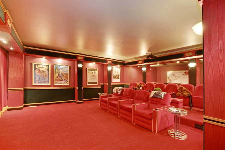 Real Estate Photography - 88 Otis Rd, Barrington Hills, IL, 60010 - Theater
