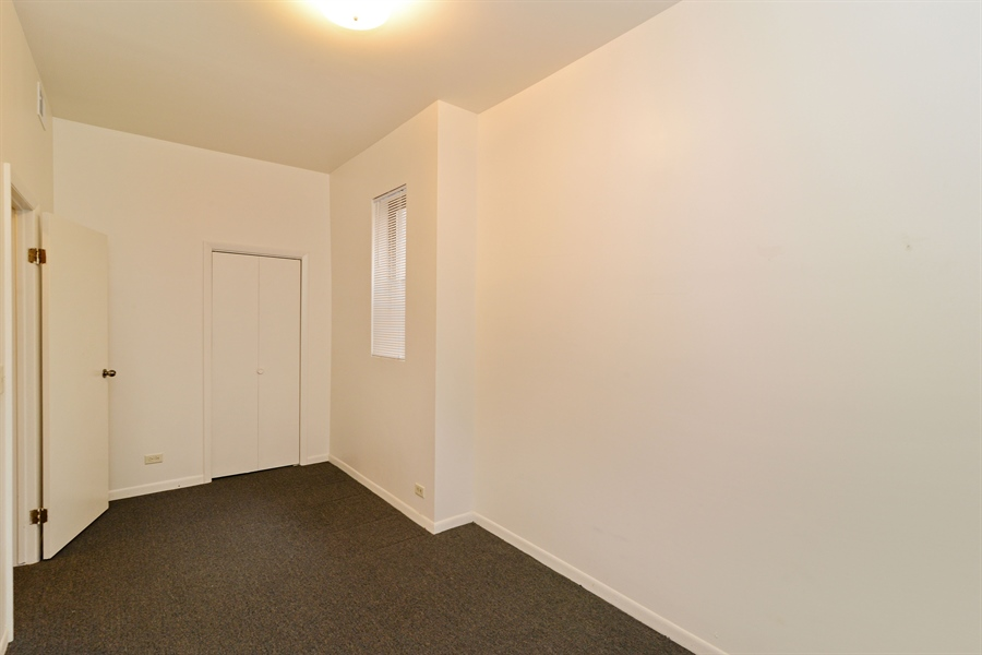 Real Estate Photography - 2245 N Western, 2F, Chicago, IL, 60647 - Bedroom