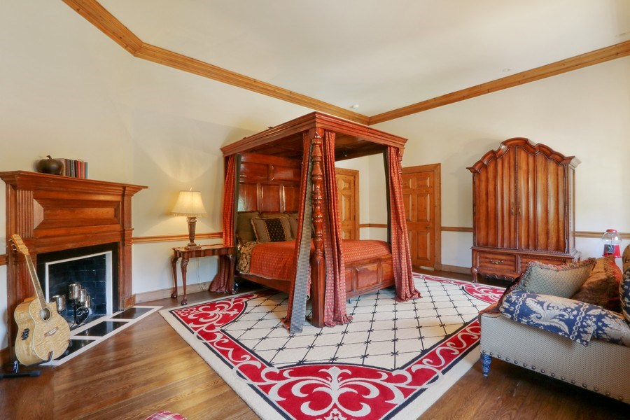 Real Estate Photography - 700 Arbor Drive, Lake Bluff, IL, 60044 - 4th Bedroom