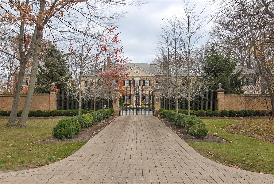 Real Estate Photography - 700 Arbor Drive, Lake Bluff, IL, 60044 - Front View