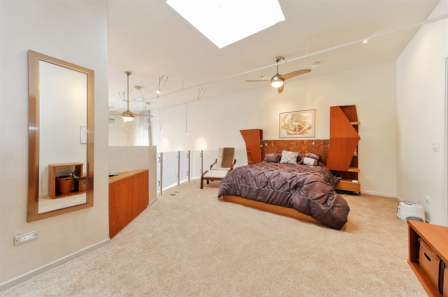 Real Estate Photography - 616 W Fulton, Unit 705, Chicago, IL, 60661 - Master Bedroom