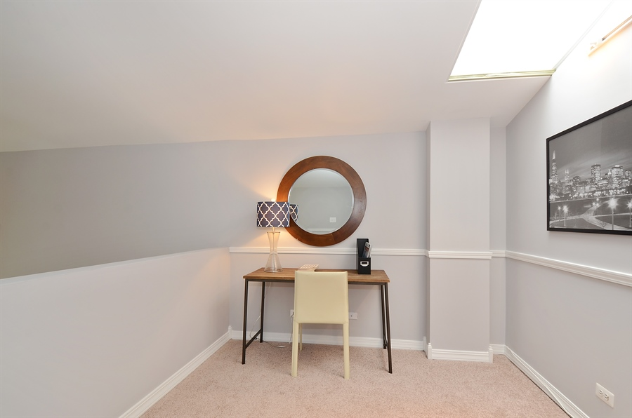 Real Estate Photography - 3645 N Wayne, Unit C, Chicago, IL, 60613 - Loft View A