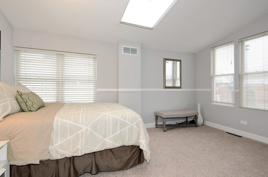 Real Estate Photography - 3645 N Wayne, Unit C, Chicago, IL, 60613 - Bedroom