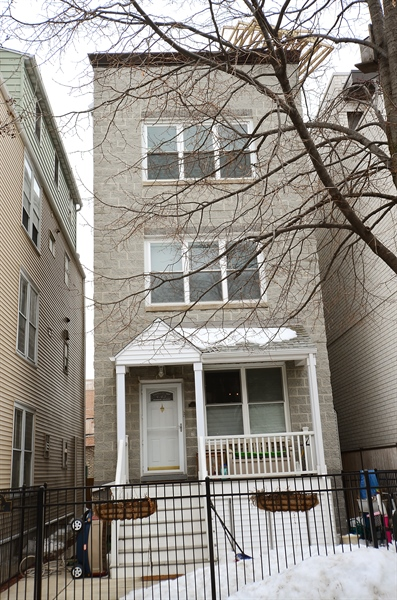 Real Estate Photography - 3645 N Wayne, Unit C, Chicago, IL, 60613 - Front View