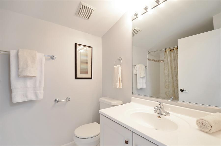 Real Estate Photography - 3645 N Wayne, Unit C, Chicago, IL, 60613 - 2nd Bathroom