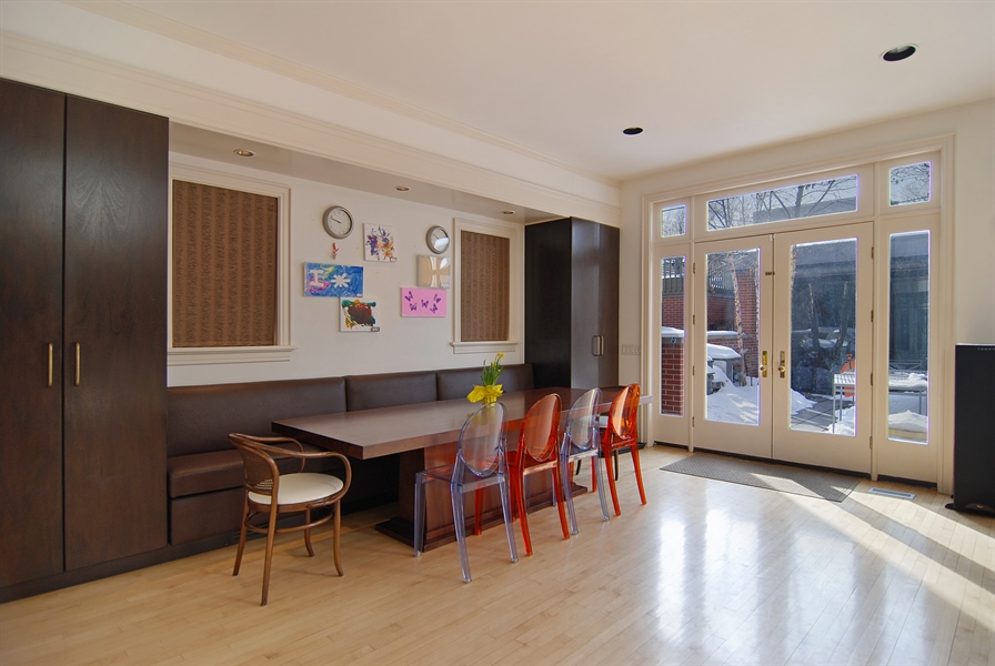 Real Estate Photography - 2136 N Magnolia, Chicago, IL, 60614 - Dining Area 2