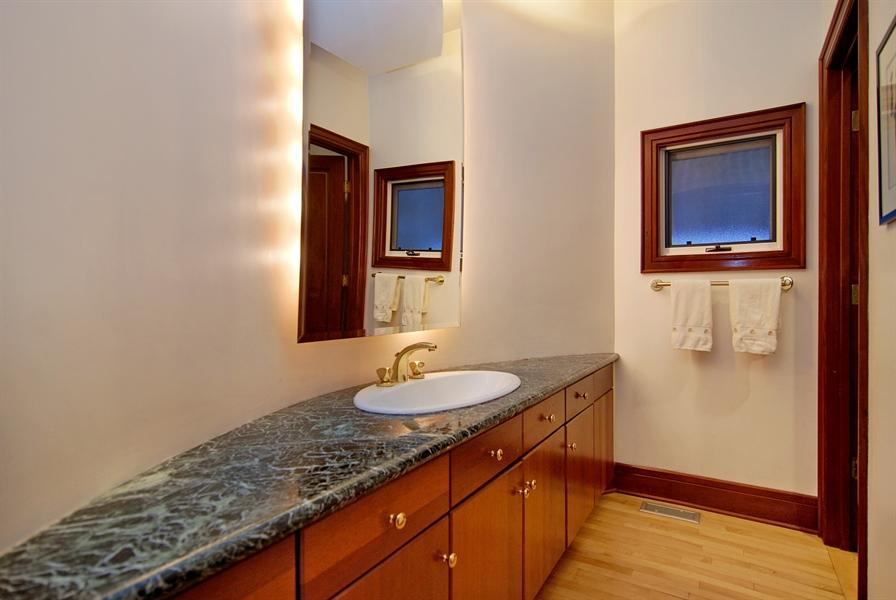 Real Estate Photography - 2136 N Magnolia, Chicago, IL, 60614 - Half Bath