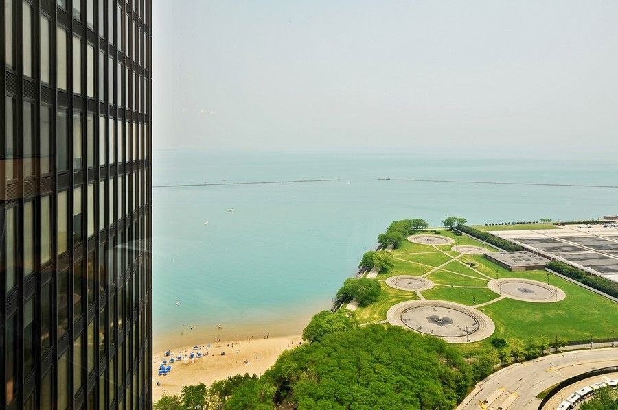 Real Estate Photography - 505 N. Lake Shore Dr., 3905, Chicago, IL, 60611 - View